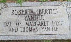 Roberta Bertie <i>Yandle</i> Austin