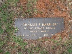 Charlie Parker Barr, Sr