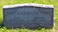 Edward Henry Saemann