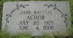 Mary Jane <i>Baccus</i> Achor