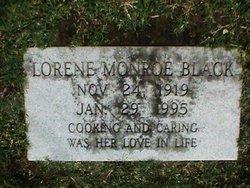 Lorene <i>Monroe</i> Black