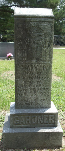 Mary P. <i>Williams</i> Gardner