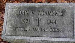 John V Adamskie
