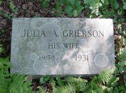 Julia A <i>Grierson</i> Dyke