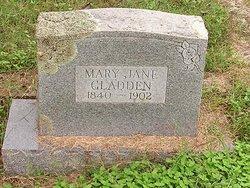 Mary Jane <i>Robbins</i> Gladden