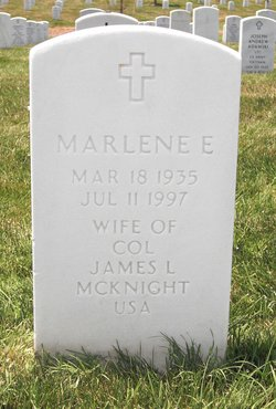 Marlene Elizabeth <i>Valentine</i> McKnight