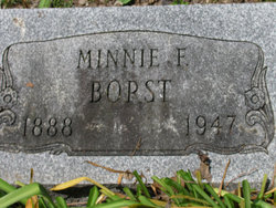 Minnie <i>Gerlacher</i> Borst