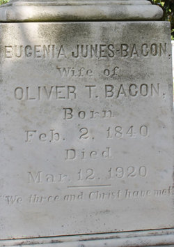 Eugenia <i>Jones</i> Bacon