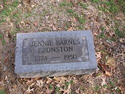 Jennie <i>Barnes</i> Bronston