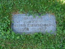 Astrid Elisabet <i>Dahlberg</i> Bredenberg
