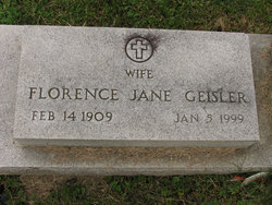 Florence Jane Geisler