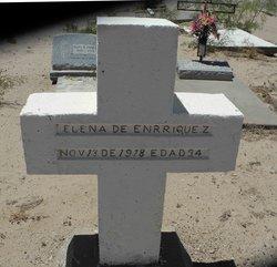 Elena <i>Gamboa</i> Enriquez