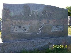 Ruth <i>Whiteside</i> Jones