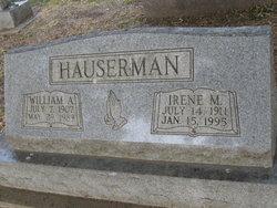 Irene M <i>Mass</i> Hauserman