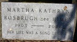 Martha Kathryn <i>Himes</i> Rosbrugh