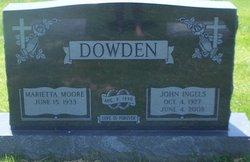 Marietta <i>Moore</i> Dowden