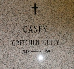 Gretchen Ann <i>Getty</i> Casey
