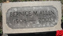 Bernice Maude <i>Vilmont</i> Allen