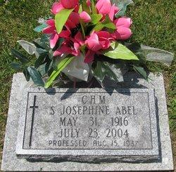 Sr Josephine Abel