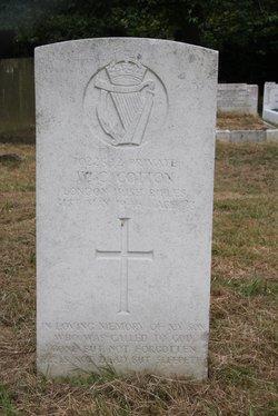 Pvt William Cyril Cotton