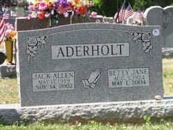 Betty Jane <i>Reid</i> Aderholt