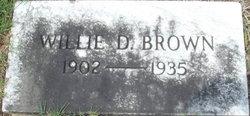 Willie Mae <i>Dilworth</i> Brown