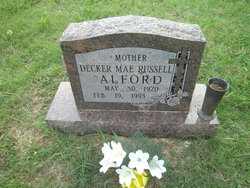 Decker Mae <i>Russell</i> Alford
