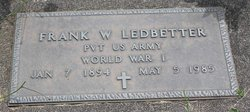 Frank William Ledbetter