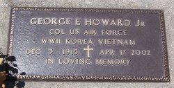 Col George E. Howard, Jr