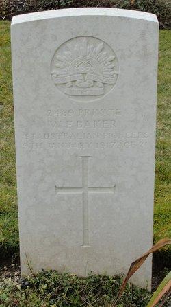 Pvt W. F. Baker