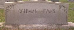 Jeanne <i>Coleman</i> Evans