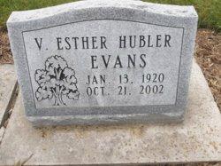 Violet Esther <i>Hubler</i> Evans