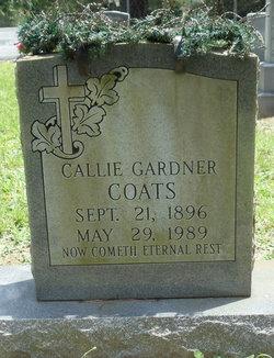 Callie <i>Gardner</i> Coats