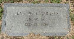 Junie Maie Gardner