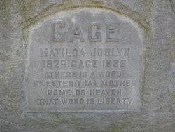 Matilda Electa <i>Joslyn</i> Gage