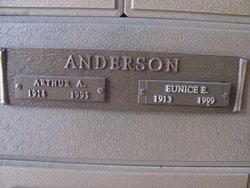 Eunice Ellen <i>King</i> Anderson