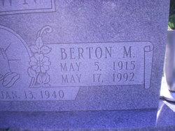 Berton M Brown