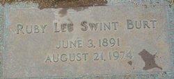 Ruby Lee <i>Swint</i> Burt