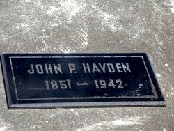 John Peter Hayden