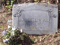 Lorette <i>Webb</i> Kilk