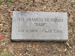 Iris Virginia <i>Francis</i> Hubbard