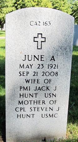 June A <i>Pearce</i> Hunt