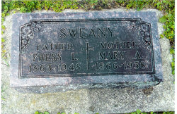 Mary Ann Winnie <i>Edwards</i> Sweany
