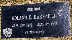 Roland Harrah, III