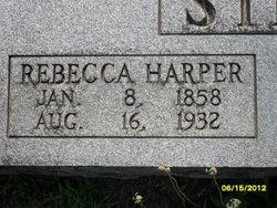 Rebecca Elizabeth <i>Harper</i> Stewart