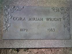 Cora Mariah <i>Carpenter</i> Wright