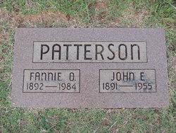 Fannie O Patterson
