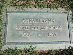 Anna Urika <i>Eriksson</i> Frank