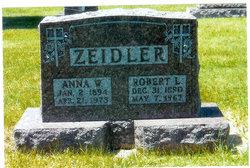 Anna W. <i>Wolfsteller</i> Zeidler