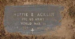 Huffie E Acklen